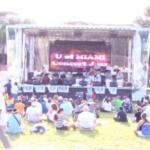 Miami Fund raiser stage, Miami Corporat AV stage, Miami Audio rentals, Miami outdoor Concerts,