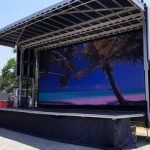 mobile stage rental Miami