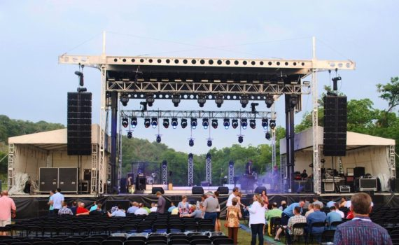 4240 PORTABLE STAGE Rental USA