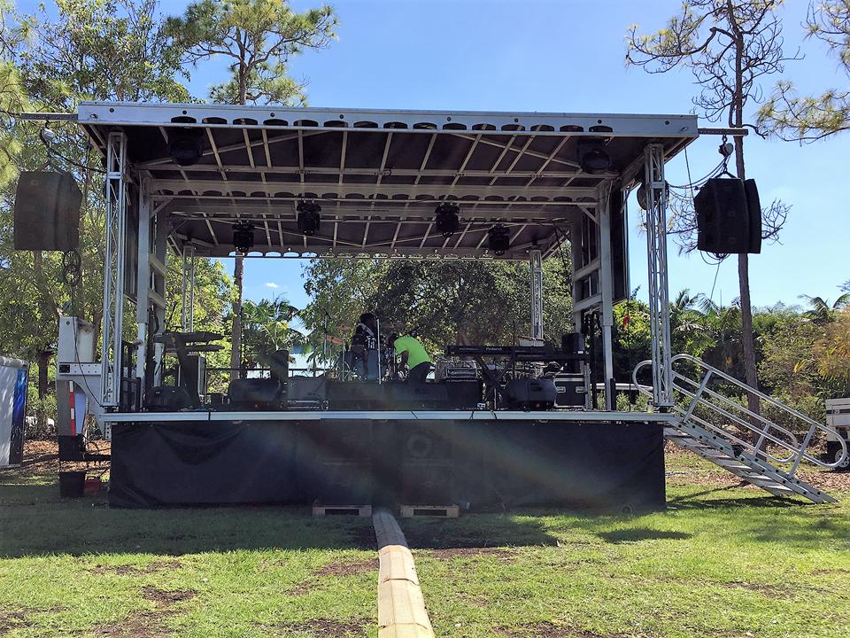 STAGE PRODUCTION MIAMI FLORIDA